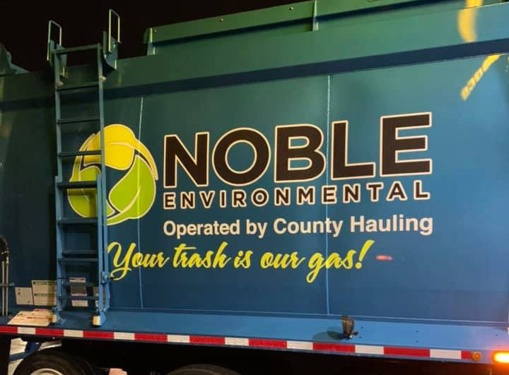 "Noble Environmental Invests In ""Smart"" Garbage Trucks"